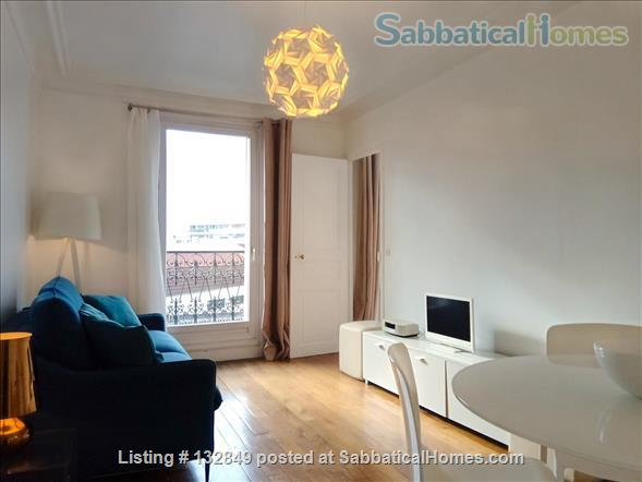 Bright sunny 1 bed apartment with balcony in the 11th Home Rental in Paris, Île-de-France, France 0