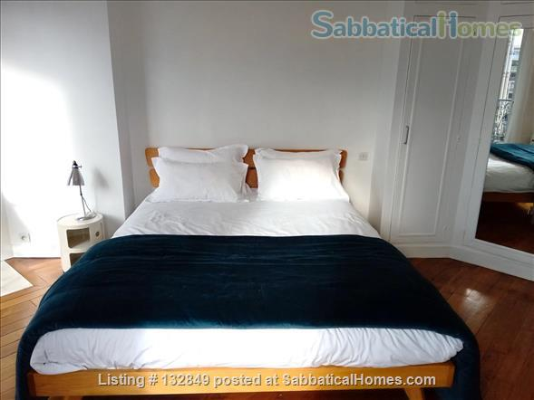 Bright sunny 1 bed apartment with balcony in the 11th Home Rental in Paris, Île-de-France, France 2