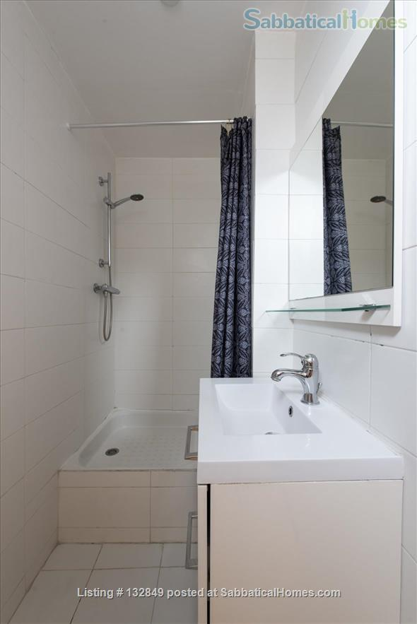 Bright sunny 1 bed apartment with balcony in the 11th Home Rental in Paris, Île-de-France, France 5