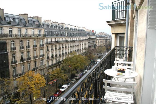 Bright sunny 1 bed apartment with balcony in the 11th Home Rental in Paris, Île-de-France, France 6