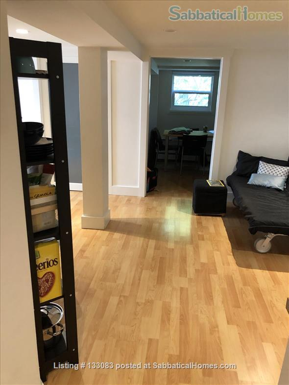 """Almost an apartment""– separate entry and private floor in a family home Home Rental in Vancouver, British Columbia, Canada 0"