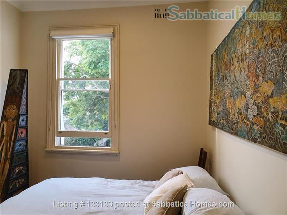 Queen size room in comfortable historic terrace sharing with professional lady Home Rental in North Sydney, New South Wales, Australia 1