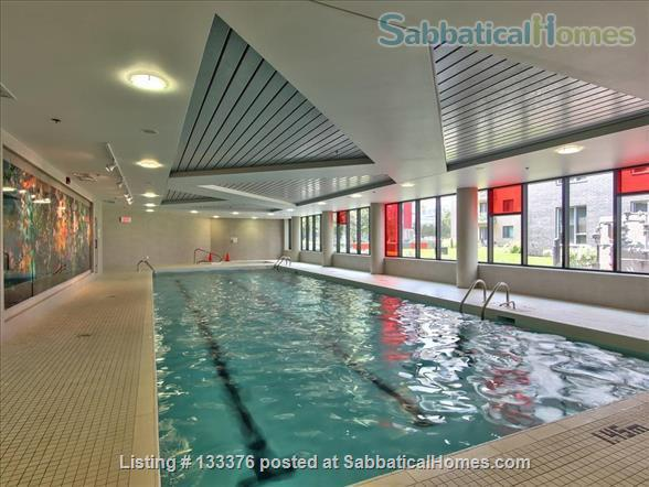 Beautiful  furnished 3 bedroom 2 bath Condo with interior parking Home Rental in Montreal, Quebec, Canada 9