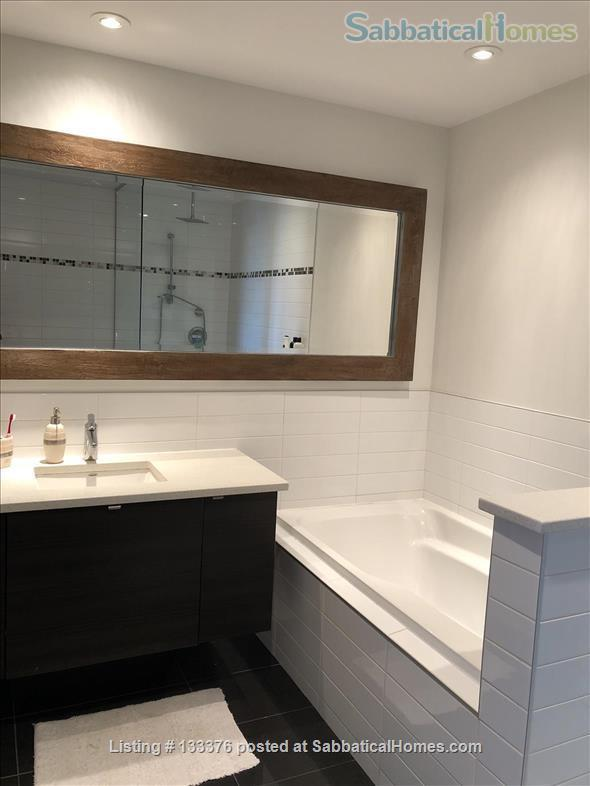 Beautiful  furnished 3 bedroom 2 bath Condo with interior parking Home Rental in Montreal, Quebec, Canada 3