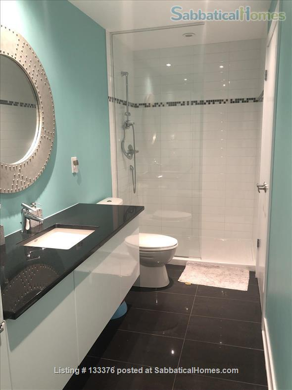 Beautiful  furnished 3 bedroom 2 bath Condo with interior parking Home Rental in Montreal, Quebec, Canada 6