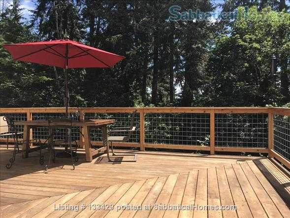 Beautiful Hendricks Park Casita. Walk to University Home Rental in Eugene, Oregon, United States 1