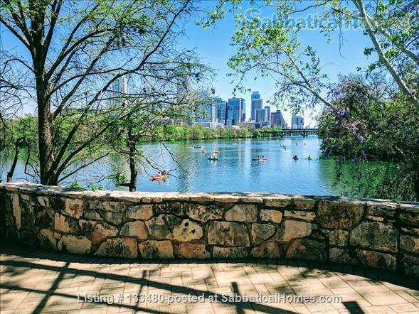 Austin, TX 78704  spacious FULLY FURNISHED 1bd/1b CORNER unit condo in prime DOWNTOWN location avail. by owner/no fee Home Rental in Austin, Texas, United States 9