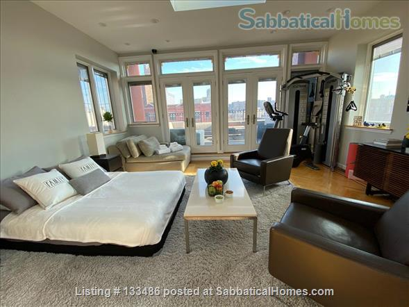 Manhattan -  3 bed/3 bath - triplex  apart - deck - walk/bike to Columbia Home Rental in New York 9