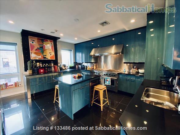 Manhattan -  3 bed/3 bath - triplex  apart - deck - walk/bike to Columbia Home Rental in New York, New York, United States 1