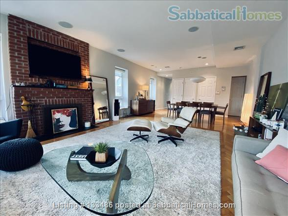 Manhattan -  3 bed/3 bath - triplex  apart - deck - walk/bike to Columbia Home Rental in New York, New York, United States 2