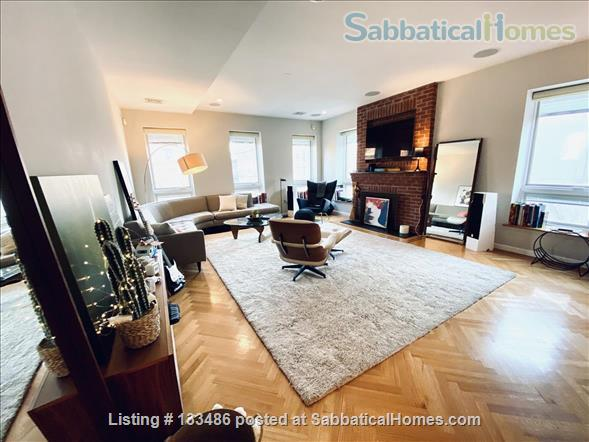 Manhattan -  3 bed/3 bath - triplex  apart - deck - walk/bike to Columbia Home Rental in New York, New York, United States 3