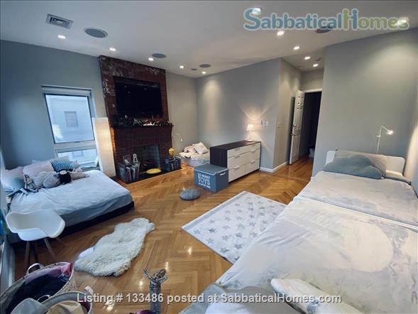 Manhattan -  3 bed/3 bath - triplex  apart - deck - walk/bike to Columbia Home Rental in New York, New York, United States 7