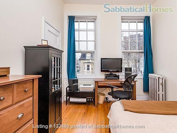 Furnished two-bedroom condo in prime location one block from Harvard campus Home Rental in Cambridge, Massachusetts, United States 2