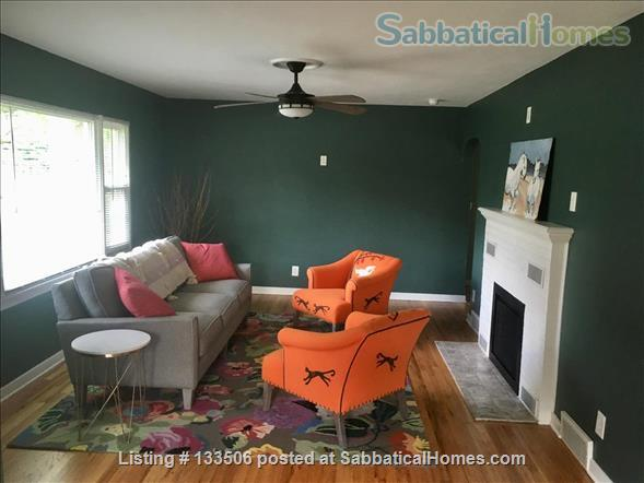 Updated 2BR in South Bend's most charming neighborhood Home Rental in South Bend, Indiana, United States 1