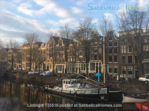 Charming and historic canal house in central Amsterdam Home Exchange in Amsterdam, NH, Netherlands 1