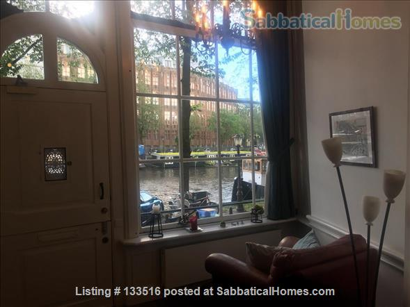 Charming and historic canal house in central Amsterdam Home Exchange in Amsterdam, NH, Netherlands 2