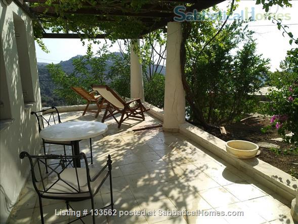 Large spacious house,hilltop villagewlocalcharm&viewsE.Aegeanpopulargetaway Home Rental in  2