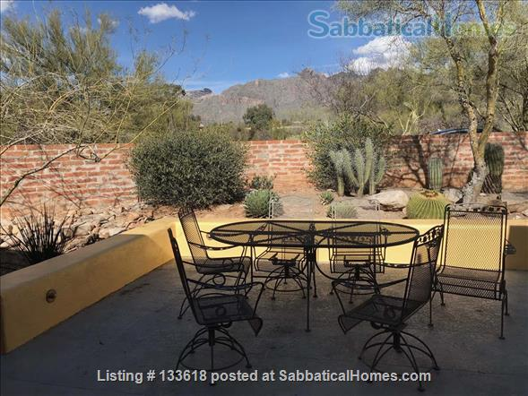 Foothills home surrounded by desert wildlife Home Rental in Tucson, Arizona, United States 9