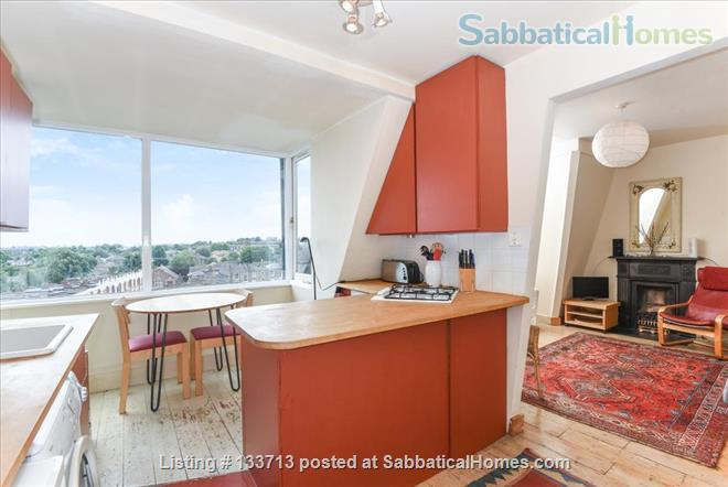 Mary Poppins Penthouse Flat Home Rental in Archway, England, United Kingdom 0