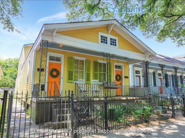 Uptown half-double off magazine street, near it all! Home Rental in New Orleans, Louisiana, United States 1