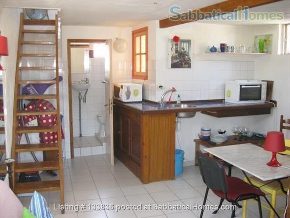 beautiful rooftop studio with mezzanine Home Rental in Montpellier, Occitanie, France 5