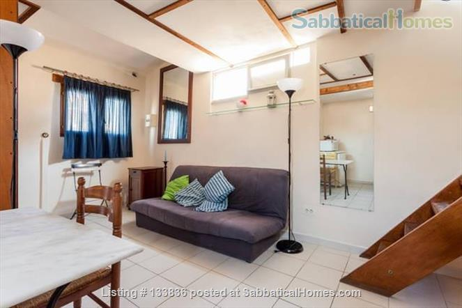 beautiful rooftop studio with mezzanine Home Rental in Montpellier, Occitanie, France 1