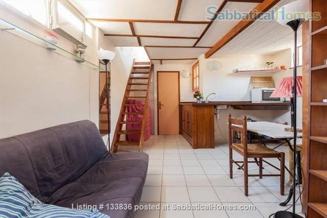 beautiful rooftop studio with mezzanine Home Rental in Montpellier, Occitanie, France 2
