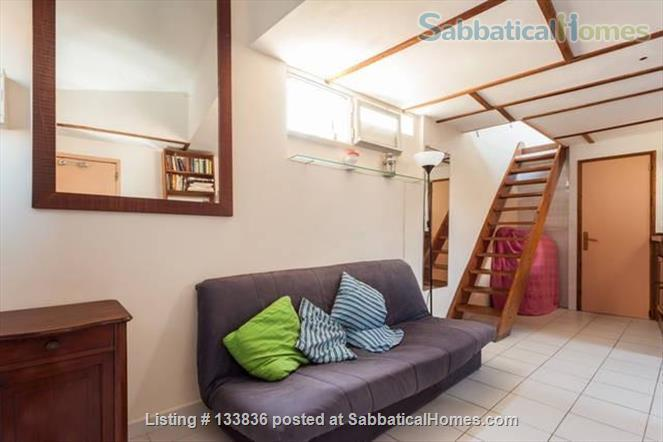 beautiful rooftop studio with mezzanine Home Rental in Montpellier, Occitanie, France 3