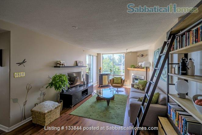 Kitsilano Furnished Condo – Beautiful 2 Bedroom, 2 Bath with Solarium & Balcony - Minutes from Kits Beach Home Rental in Vancouver, British Columbia, Canada 1