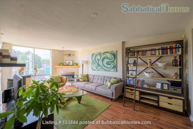 Kitsilano Furnished Condo – Beautiful 2 Bedroom, 2 Bath with Solarium & Balcony - Minutes from Kits Beach Home Rental in Vancouver, British Columbia, Canada 0