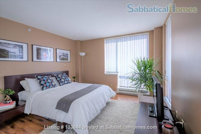 Kitsilano Furnished Condo – Beautiful 2 Bedroom, 2 Bath with Solarium & Balcony - Minutes from Kits Beach Home Rental in Vancouver, British Columbia, Canada 2