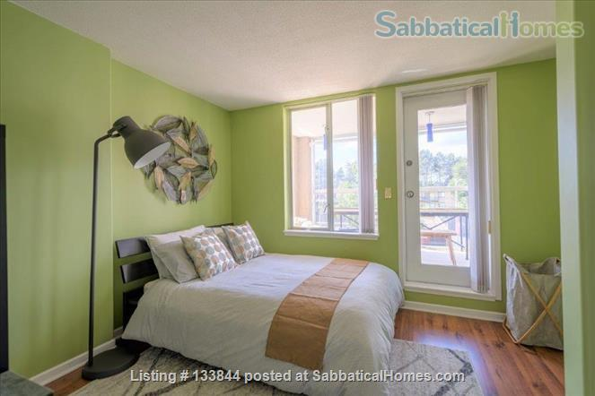 Kitsilano Furnished Condo – Beautiful 2 Bedroom, 2 Bath with Solarium & Balcony - Minutes from Kits Beach Home Rental in Vancouver, British Columbia, Canada 3