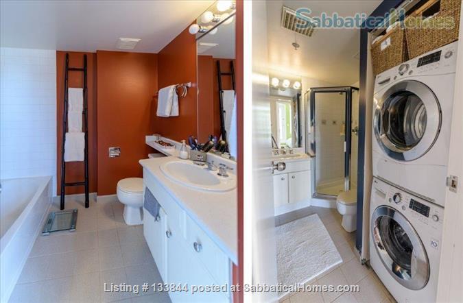 Kitsilano Furnished Condo – Beautiful 2 Bedroom, 2 Bath with Solarium & Balcony - Minutes from Kits Beach Home Rental in Vancouver, British Columbia, Canada 5