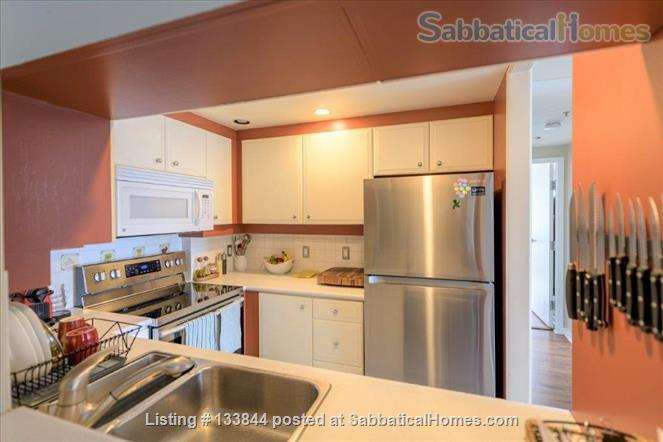 Kitsilano Furnished Condo – Beautiful 2 Bedroom, 2 Bath with Solarium & Balcony - Minutes from Kits Beach Home Rental in Vancouver, British Columbia, Canada 6