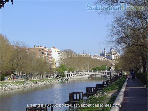 Four bedroom apartment in the greenest area in Madrid Home Rental in Madrid, Comunidad de Madrid, Spain 1