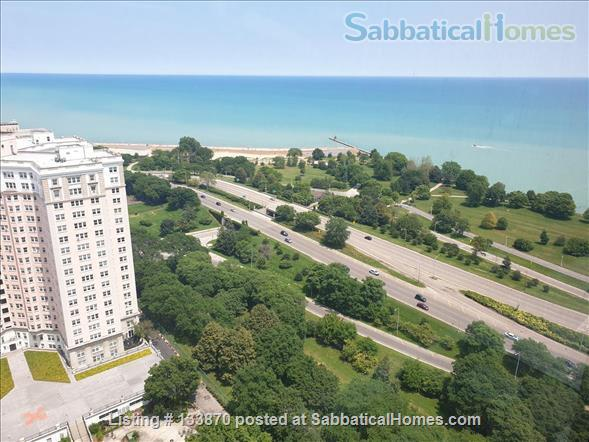 Furnished Apt. with Stunning Lake View and Close to Public Transportation Home Rental in Chicago, Illinois, United States 1