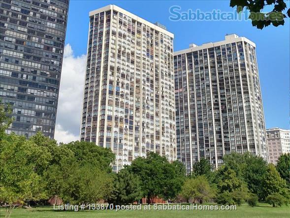 Furnished Apt. with Stunning Lake View and Close to Public Transportation Home Rental in Chicago, Illinois, United States 8