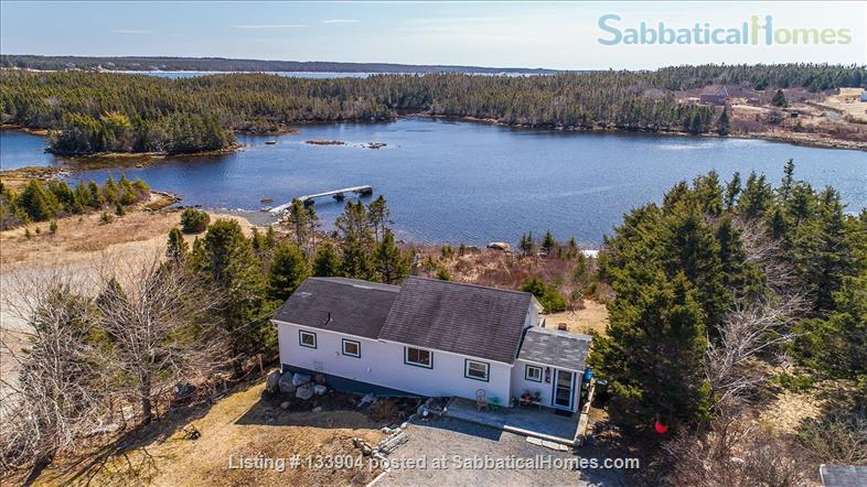 Spacious Waterfront 1 Bedroom House for summer 2021 Home Rental in West Pennant, Nova Scotia, Canada 1