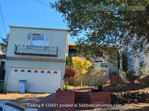 North Berkeley Hills Home Rental in Berkeley, California, United States 1