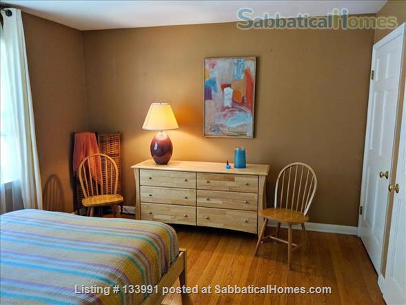 Amherst Center Massachusetts Rental Coveted Location (some flexibility on dates): Furnished 3 BR Home with  RARE Long-range Mountain Sunset View. $2,350/month.  Home Rental in Amherst, Massachusetts, United States 3