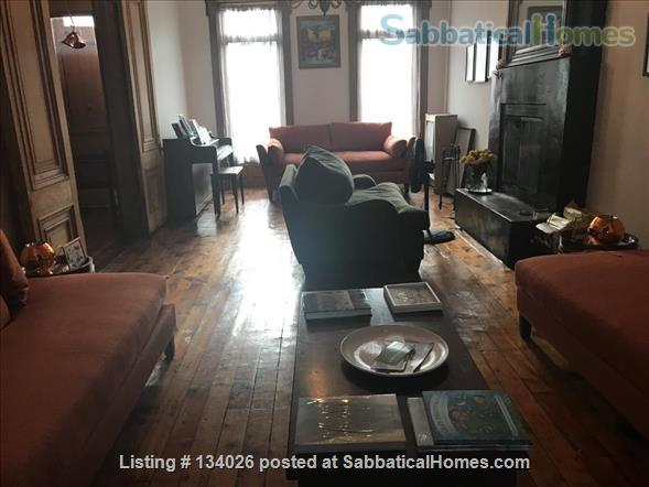 2Bedrooms, Office, 1.5 Bath Duplex Historic Brownstone - Brooklyn Home Rental in Bedford-Stuyvesant, New York, United States 0