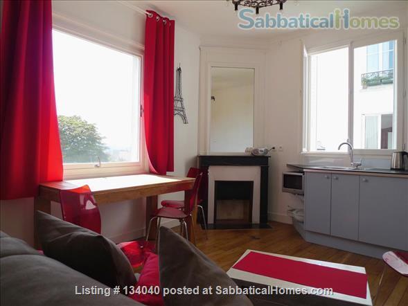 Designed Apartment - View Over Paris- Rare Montmartre Location Home Rental in Paris, Île-de-France, France 1