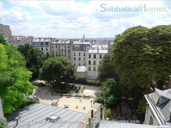 Designed Apartment - View Over Paris- Rare Montmartre Location Home Rental in Paris, Île-de-France, France 0