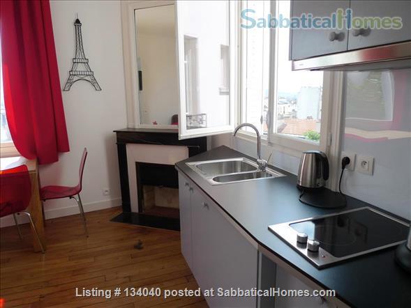Designed Apartment - View Over Paris- Rare Montmartre Location Home Rental in Paris, Île-de-France, France 2