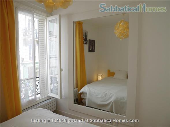 Designed Apartment - View Over Paris- Rare Montmartre Location Home Rental in Paris, Île-de-France, France 6