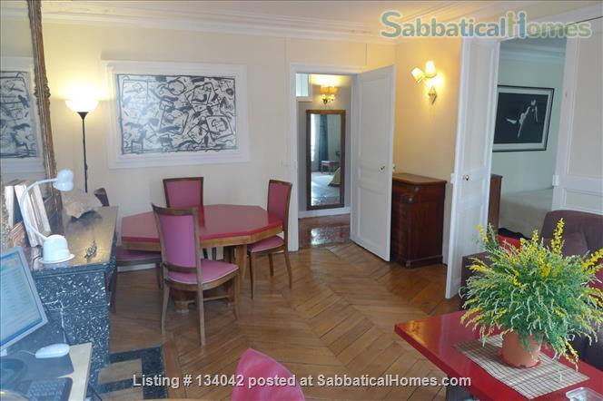 Large 2BR Apt – Elegant Decoration - Fully Refurbished - Calm Home Rental in Paris, Île-de-France, France 2