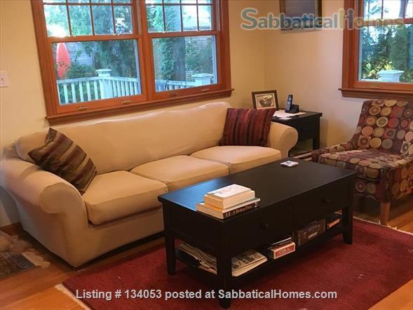 4 bed, 2.5 bath home, on public transportation in Boston suburb, 5 min walk to K-5 school Home Rental in Arlington, Massachusetts, United States 4