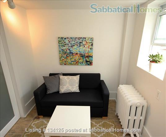 Sunny and Central One Bedroom Apartment- Minutes to Bloor Street Home Rental in Toronto 1