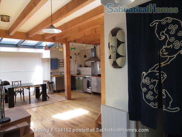 "3 bedrooms duplex with outdoor patios, ""like a house"" spirit Home Rental in Paris, Île-de-France, France 1"