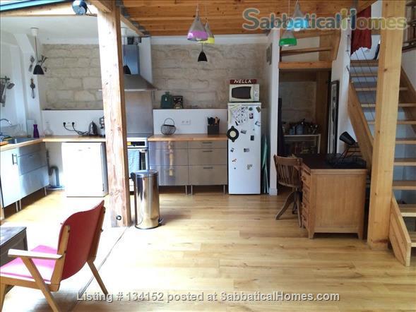 "3 bedrooms duplex with outdoor patios, ""like a house"" spirit Home Rental in Paris, Île-de-France, France 2"